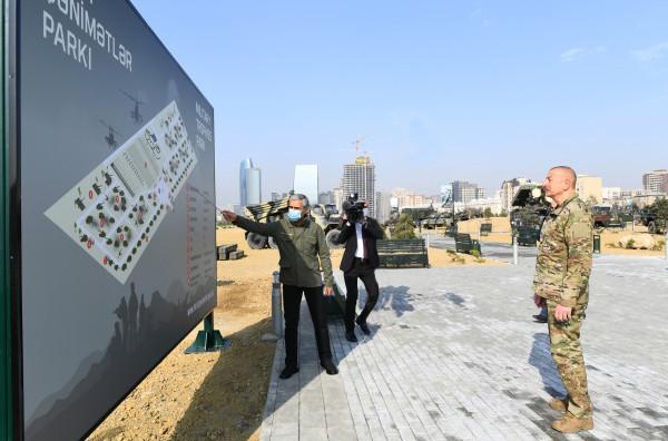 Как выглядит азербайджанский Парк военных трофеев. Фоторепортаж