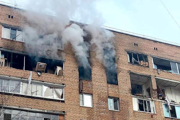 Взрыв в многоэтажном доме в Химках. Фоторепортаж