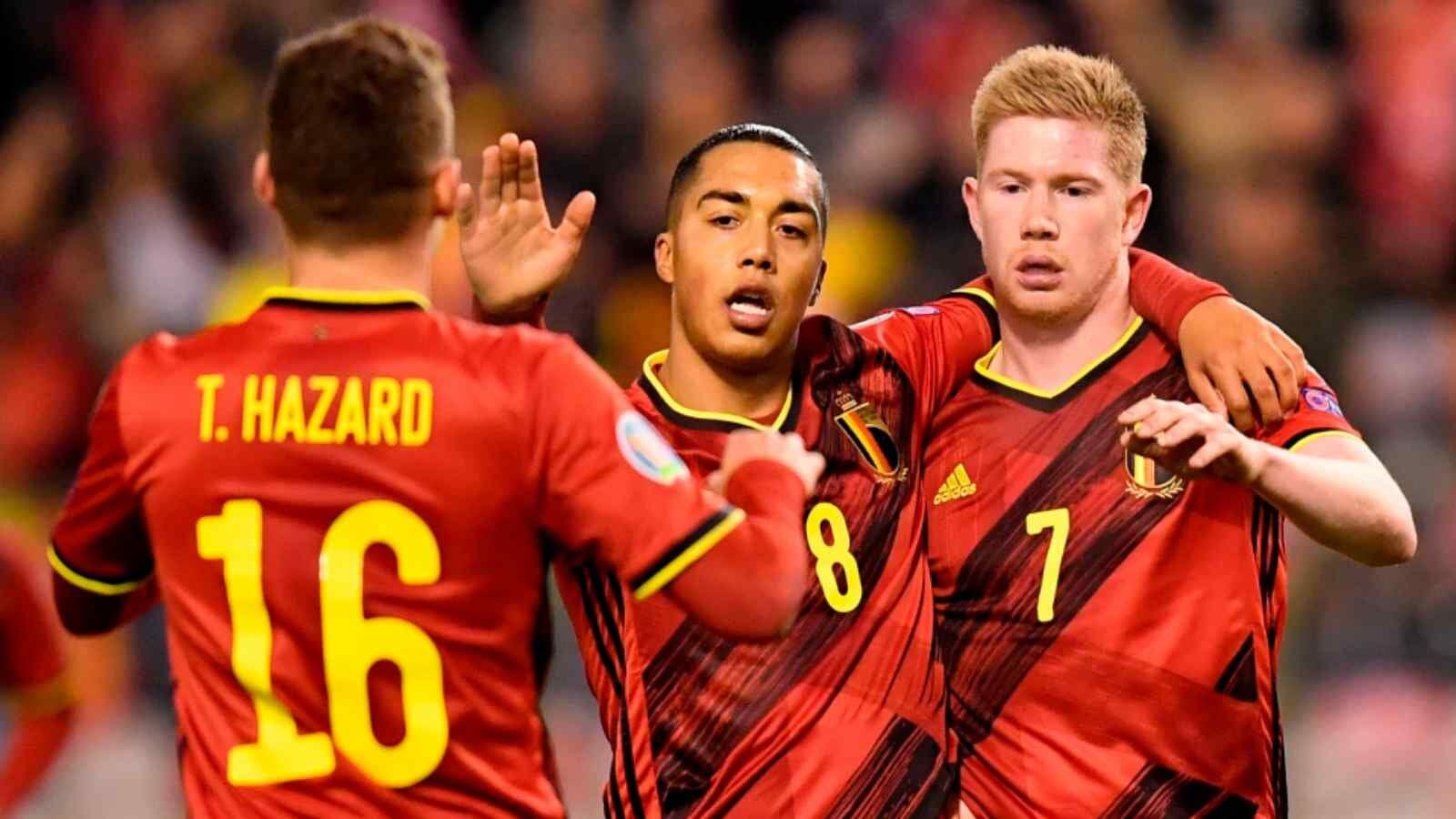 Бельгия вышла в плей-офф Евро-2020
