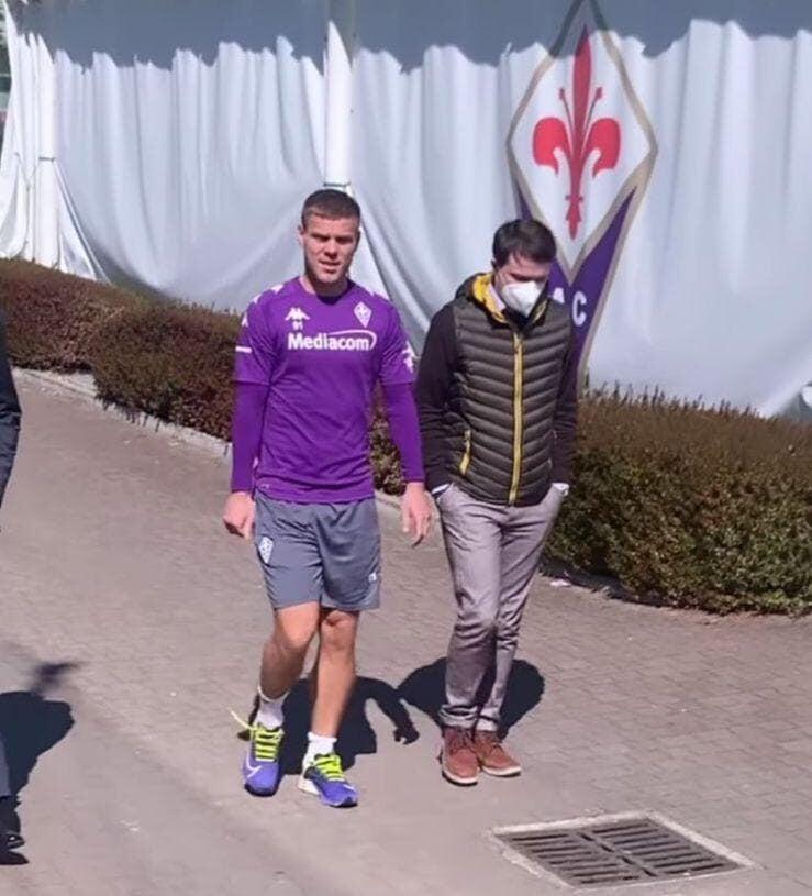 Кокорин вернулся в «Фиорентину» и тренируется индивидуально