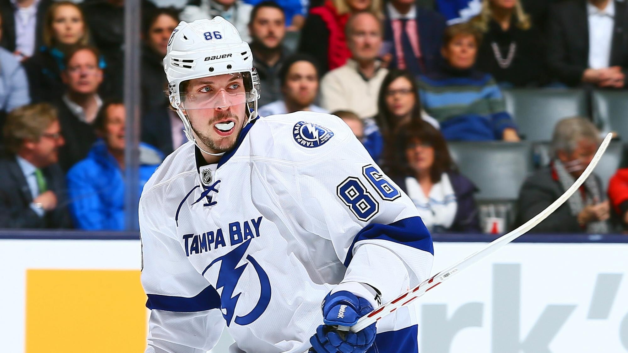 Кучеров – 4-й по очкам (117) среди россиян в истории плей-офф НХЛ. Он догнал Зубова, до Овечкина – 18 баллов