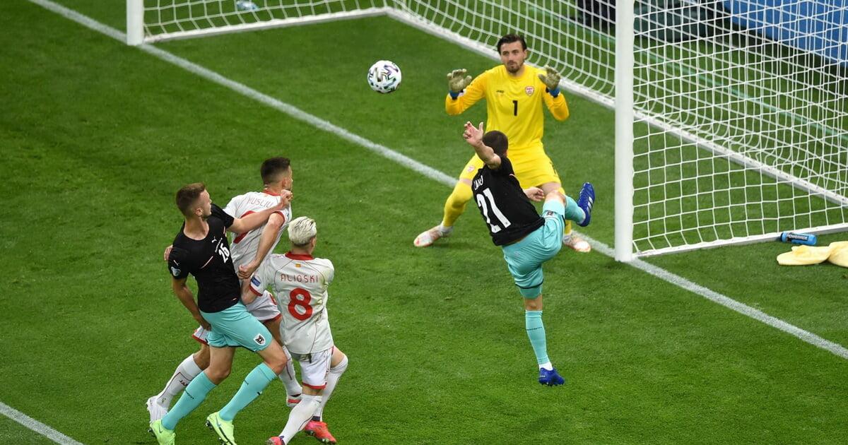 Северная Македония проиграла свой первый матч на Евро – Австрии (1:3)