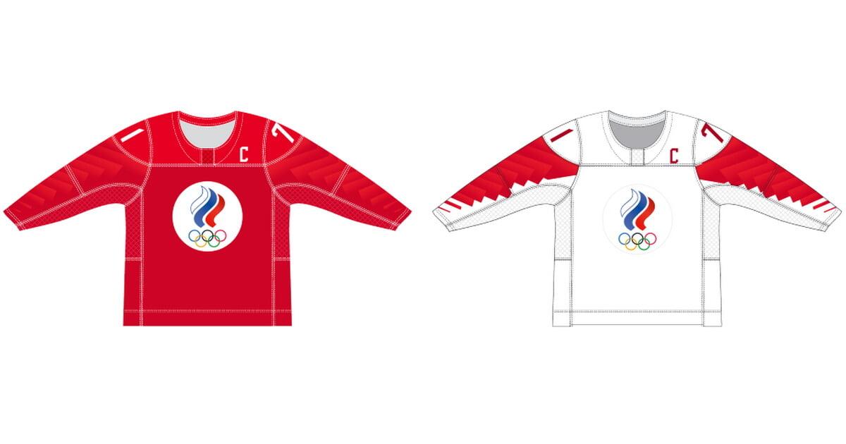 Свитеры сборной России на ЧМ-2021 представлены ИИХФ. Вместо герба в центре эмблема ОКР