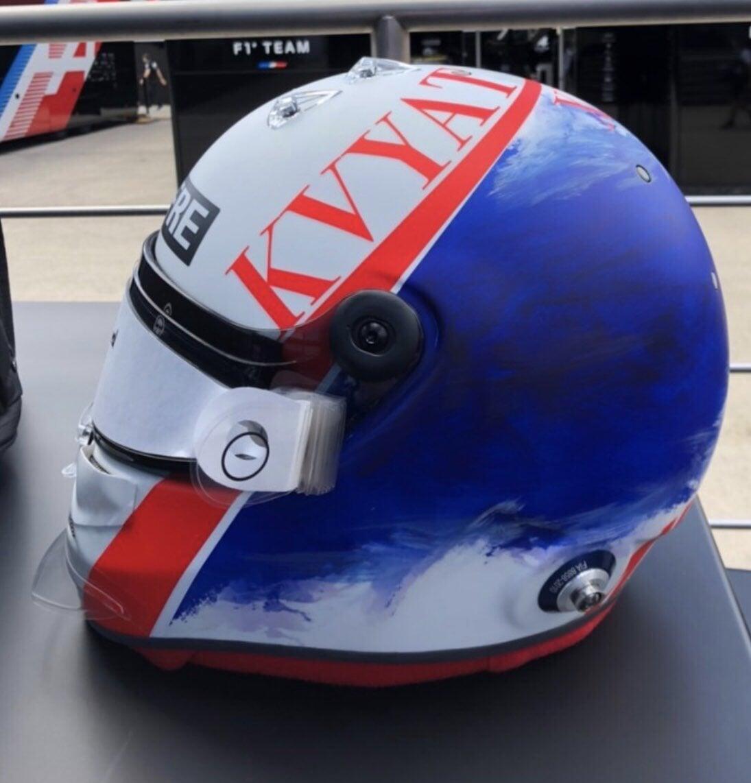 Первый шлем Квята в «Альпин» для шинных тестов в Барселоне