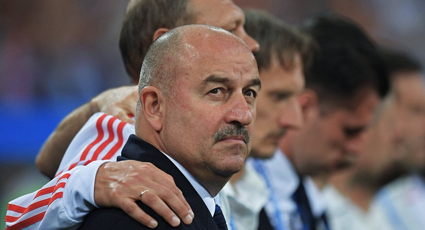Сборная России при Черчесове пропустила 13 голов в 4 матчах против Бельгии