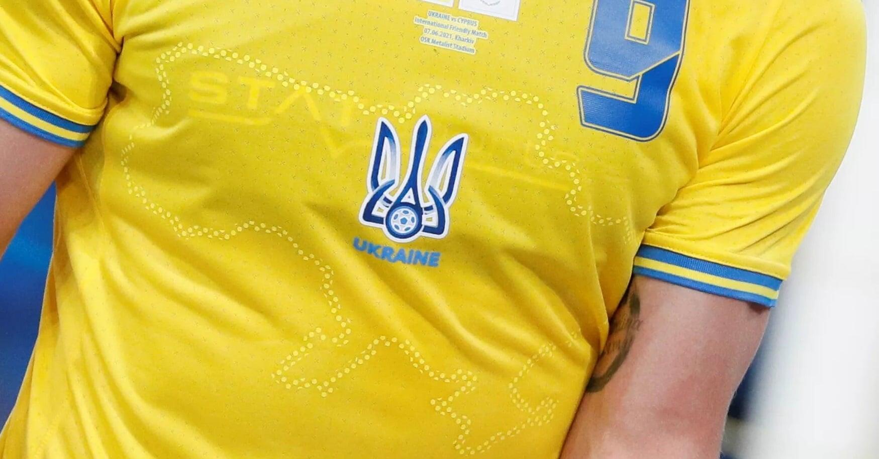 УЕФА о форме Украины: «Сочетание фраз «Слава Украине» и «Героям слава» имеет милитаристский подтекст. Слоган должен быть удален»