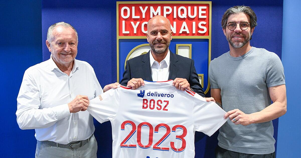 «Лион» объявил о назначении Боса главным тренером. Контракт – на 2 года