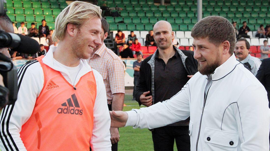 Жил в бывшем доме Кадырова, был приговорен к сроку, играя в России. Самый дорогой легионер 'Ахмата' Лежар