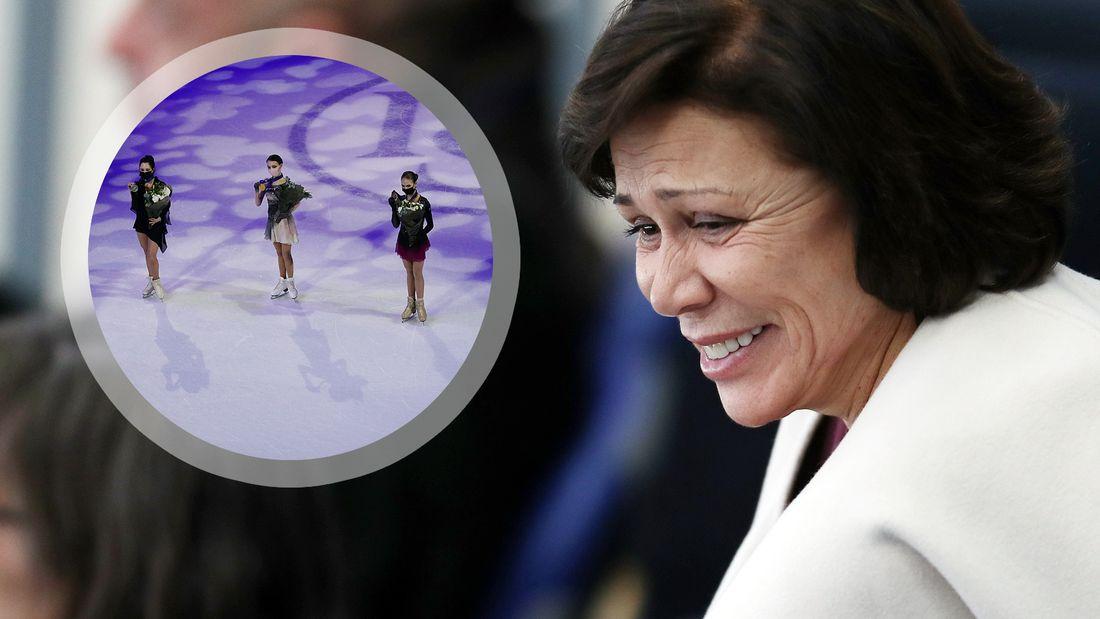 Роднина: «Результат российских фигуристок на ЧМ – грандиозная победа»