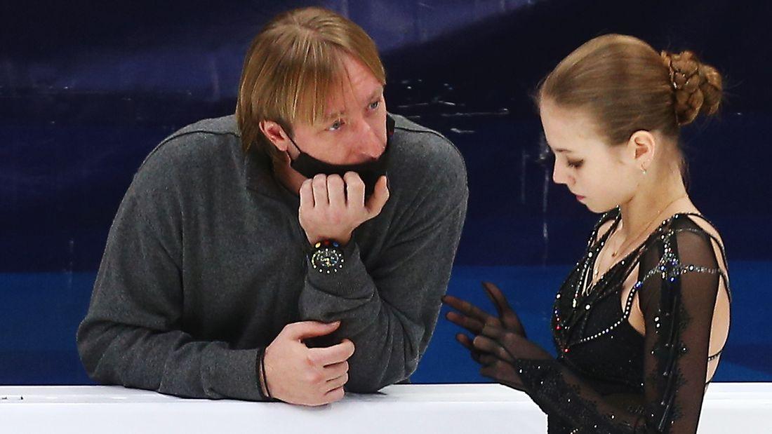 Плющенко - Трусовой: 'Уверен, твоя мечта сделать 5 четверных в произвольной программе обязательно исполнится!'