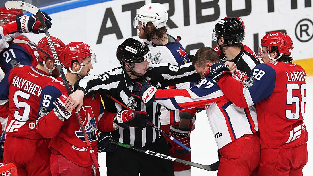 «Локо» вцепился в чемпиона мертвой хваткой. ЦСКА снова проиграл в овертайме, в полуфинале Запада будет 7-й матч