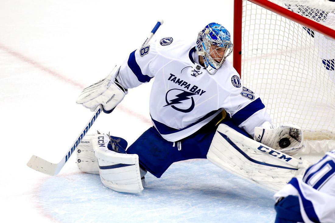 «Где была бы «Тампа» без Андрея?» Василевский - претендент на приз самому ценному игроку сезона в НХЛ!