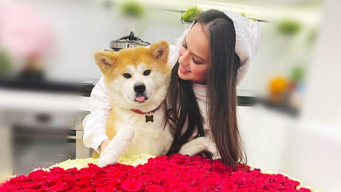 'Повезло тебе с хозяйкой'. Загитова трогательно поздравила свою собаку с днем рождения