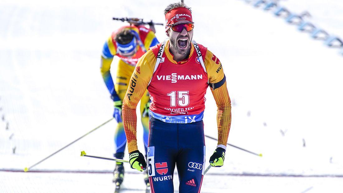 Легендарный биатлонист Пайффер завершает карьеру. Впервые он выиграл золото чемпионата мира в России