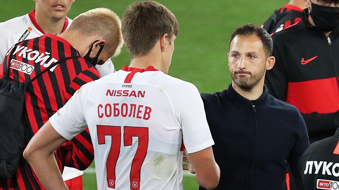 «Каждой команде нужен подобный нападающий». Тедеско сравнил Соболева с Левандовски