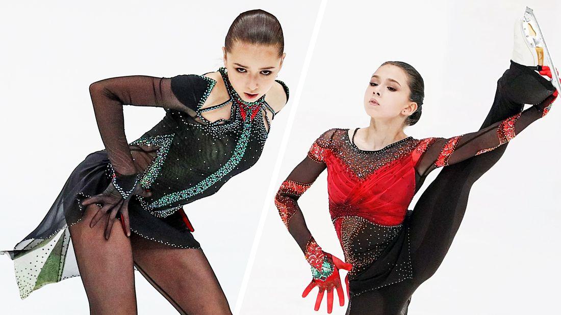 Ученице Тутберидзе Валиевой обновили костюм для Болеро: убрали красный комбинезон - за основу взяли наряд Загитовой