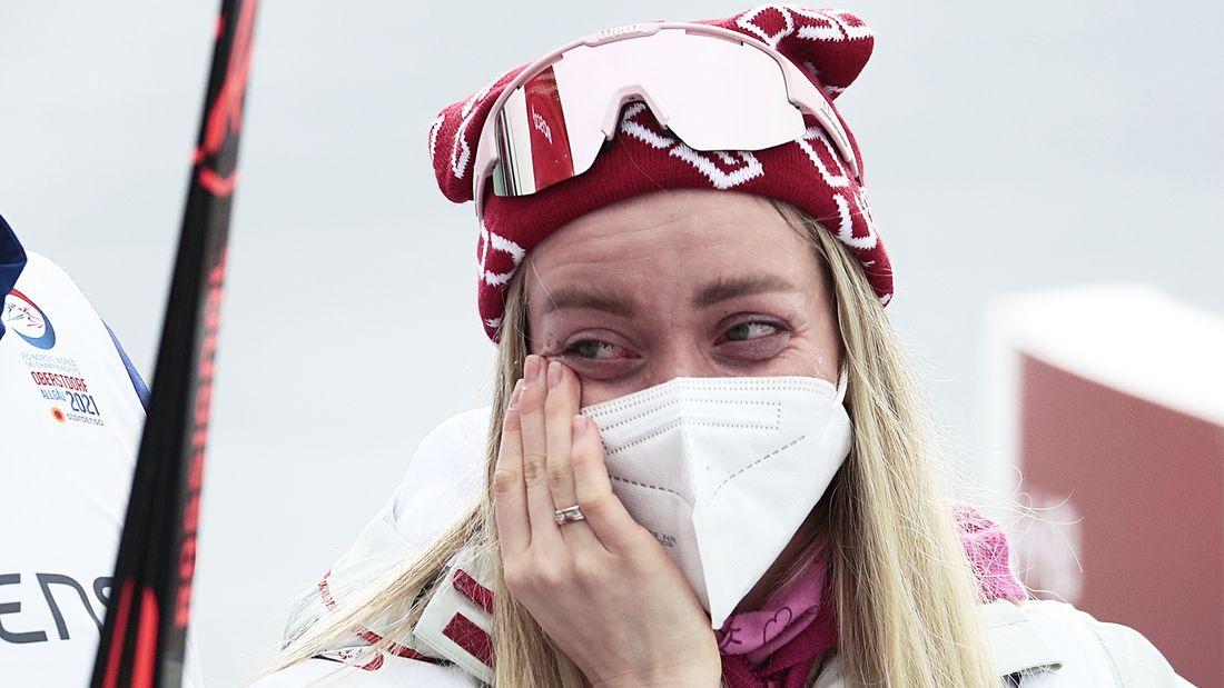 Невеста Большунова лыжница Жеребятьева завершила спортивную карьеру