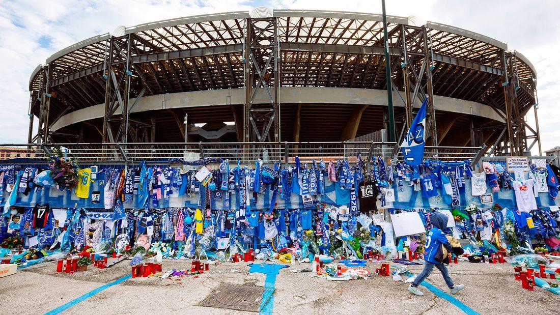 Неаполитанские священники выступили против переименования стадиона «Сан-Паоло» в честь Марадоны