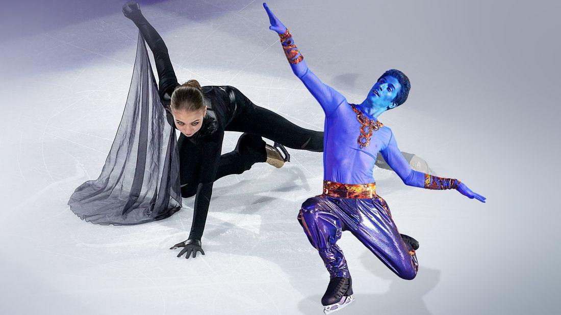'Игра на выживание' Трусовой, 'Звезда родилась' Туктамышевой, Квителашвили с синим лицом. Как завершился ЧМ-2021