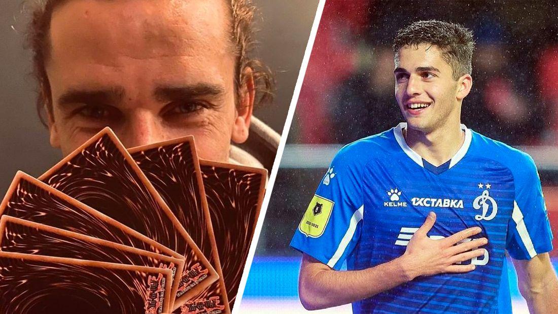 Гризманн приобрел карточку 17-летнего полузащитника «Динамо» Захаряна в футбольной фэнтези-игре Sorare