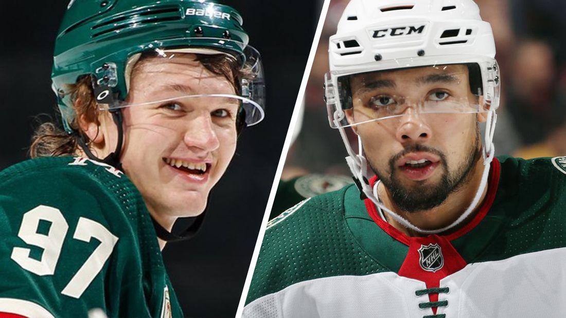 Канадец Дамба по-русски назвал Капризова «братишкой» после победы в матче НХЛ