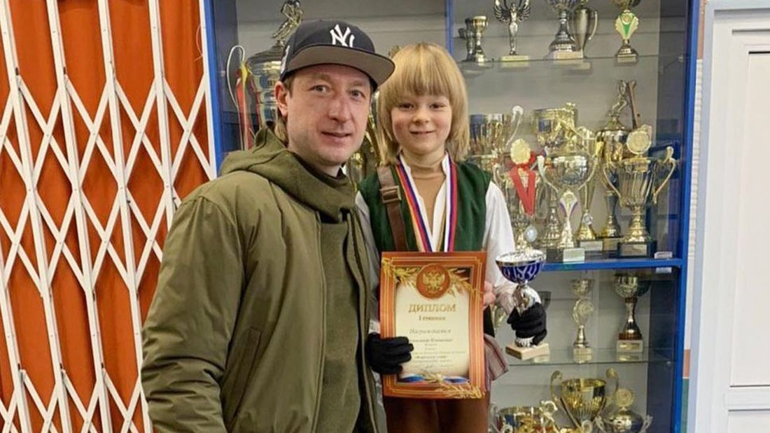 Плющенко: 'Спорт и победы помогли мне заработать деньги. Хочу дать своему сыну возможность прожить такую же жизнь'