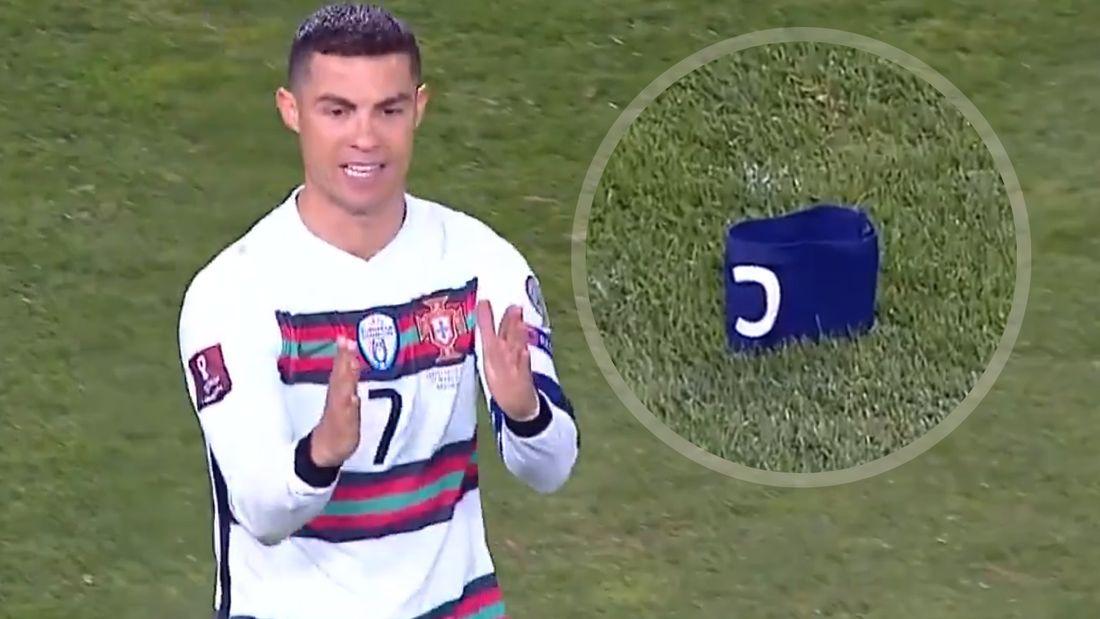 Роналду выступил с заявлением после скандала в Сербии, из-за которого он выкинул капитанскую повязку