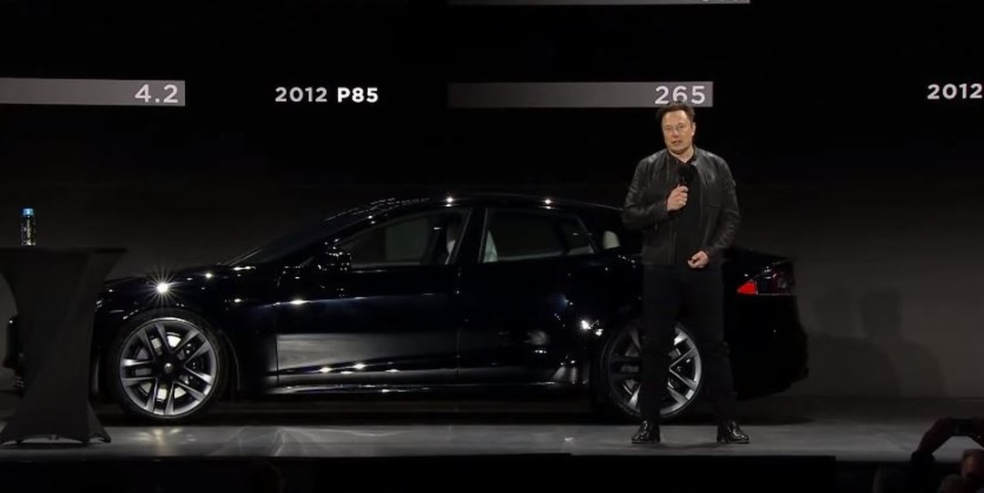 Маск показал самый быстрый электромобиль в истории Tesla