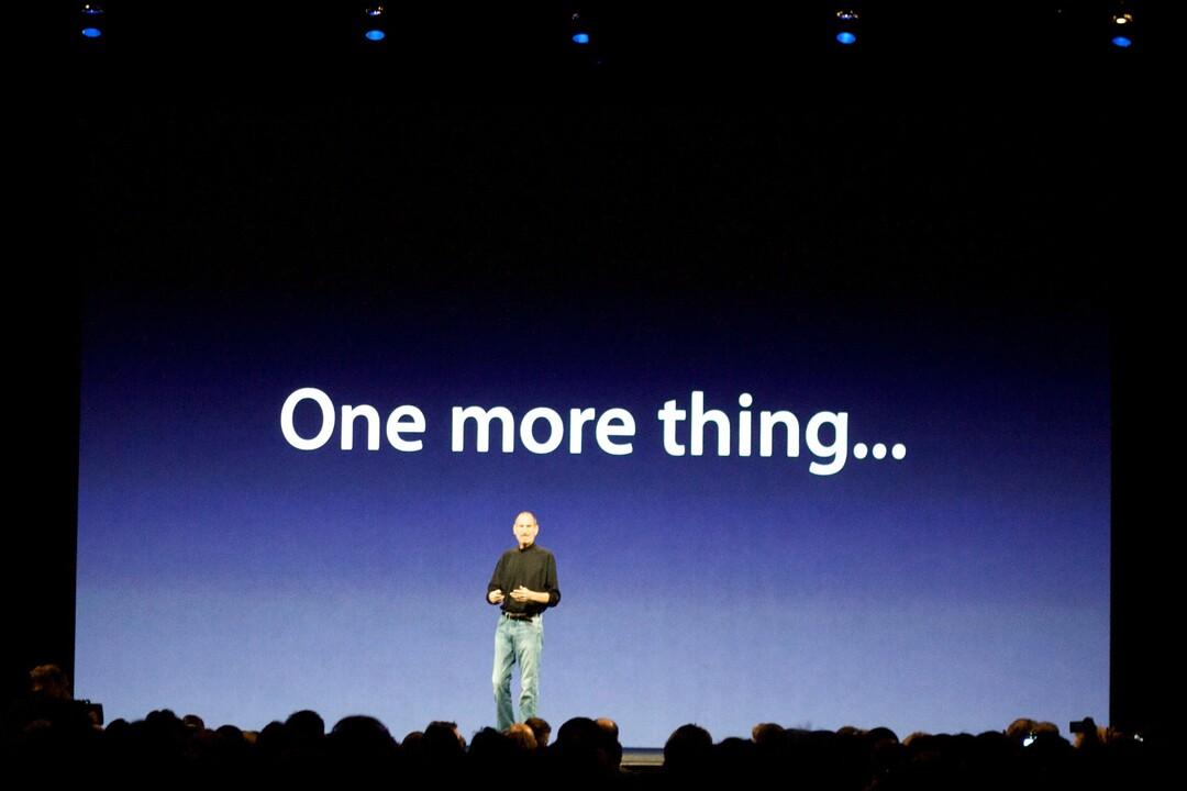 Apple проиграла спор о правах на фразу «Ещё кое-что»