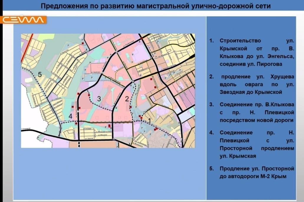 В Курске представили подробные планы развития дорожной сети по микрорайонам