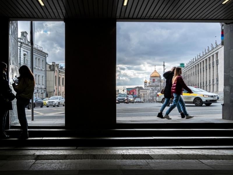В Московском регионе объявили желтый уровень опасности из-за гололедицы и ветра
