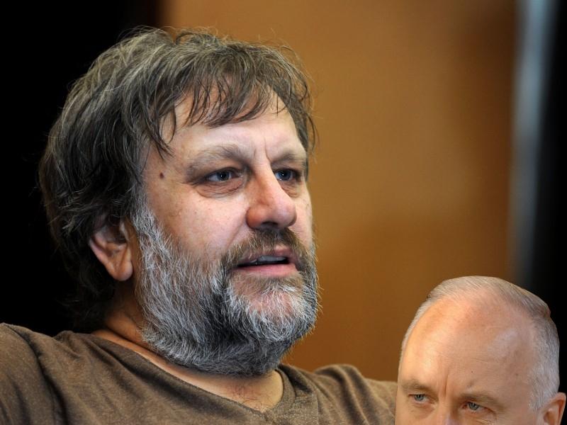 Философ Славой Жижек сравнил журнал DOXA с Берни Сандерсом и вызвал Бастрыкина на дебаты