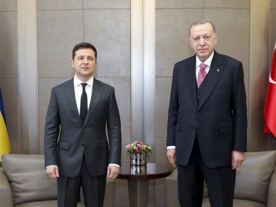 Зеленский встречается с Эрдоганом, Украина призывает ужесточить санкции против РФ
