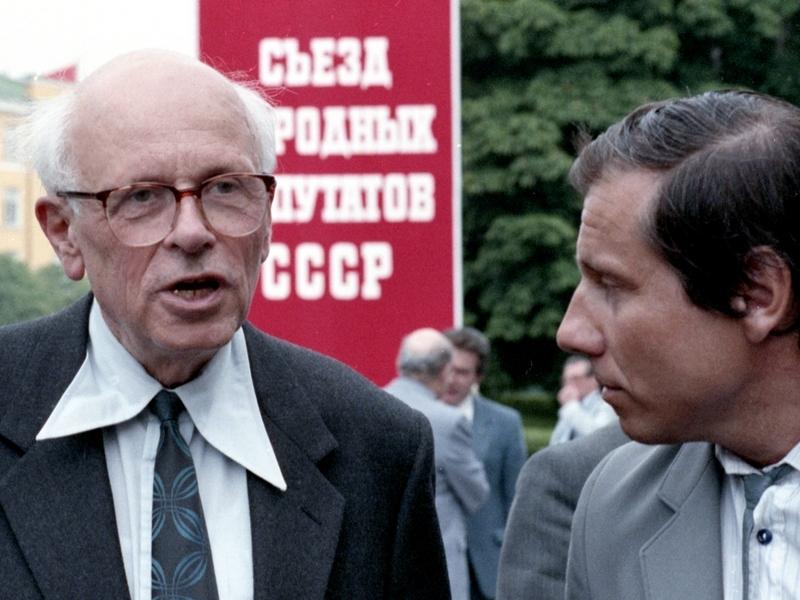 Власти Москвы не согласовали выставку к столетию академика Сахарова на Чистых прудах