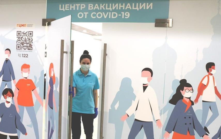 В 'Ледовом дворце' Петербурга открыли пункт вакцинации от COVID-19: сколько людей уже привились от коронавируса