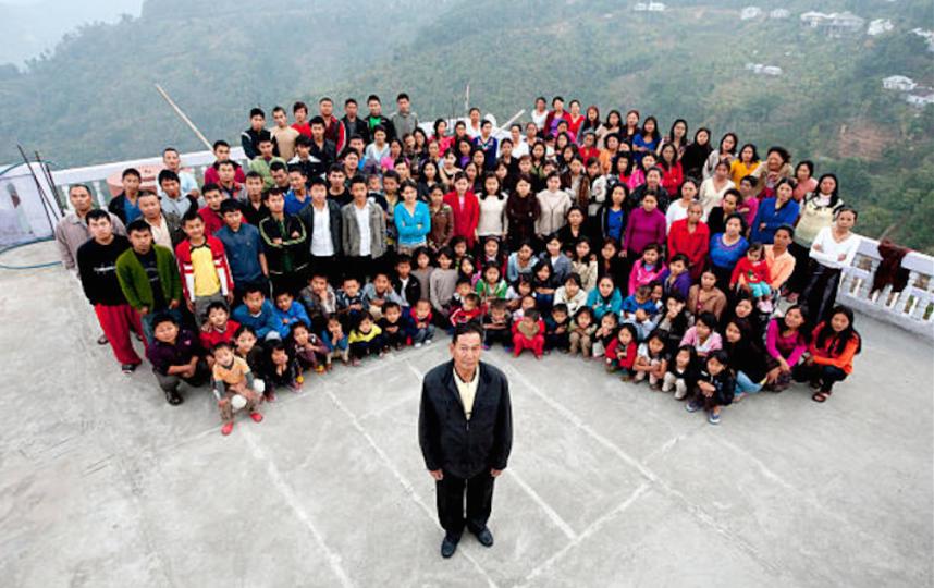 Умер глава самой многочисленной семьи в мире