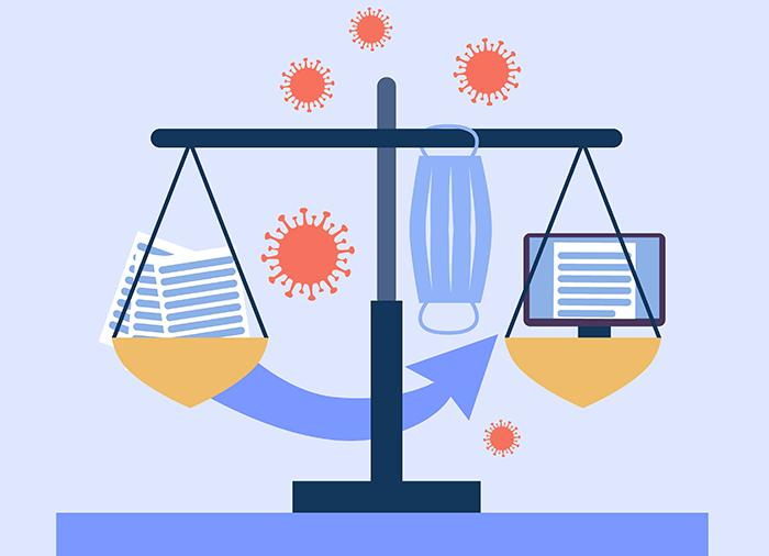 Файлы вместо распечаток: как пандемия увела юристов в онлайн