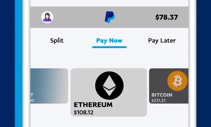 PayPal разрешила пользователям в США расплачиваться криптовалютами