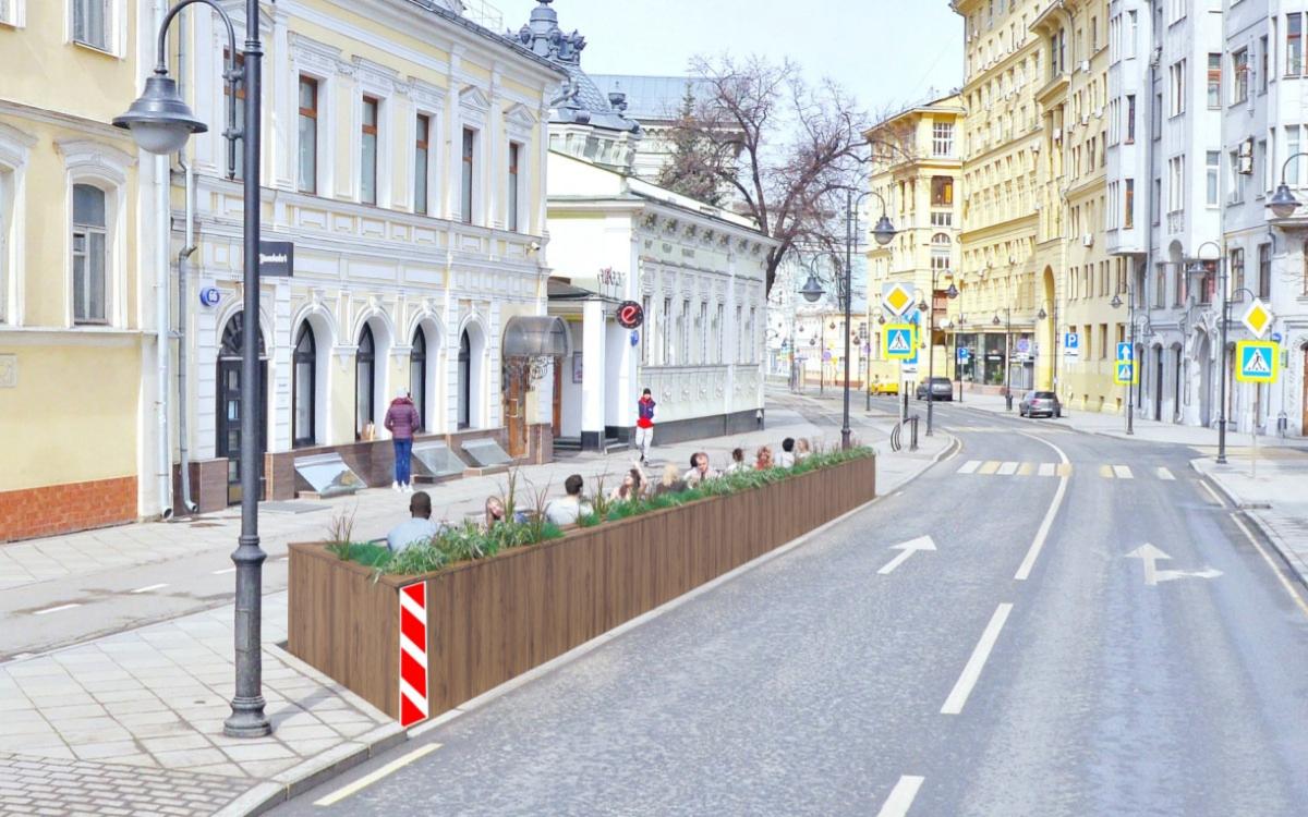 Московские рестораторы предложили построить летние кафе на месте парковок