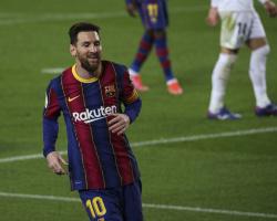«Барселона»: Месси повторил рекорд Пеле