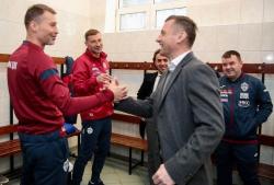 Олич: «Когда сравняли счёт, я говорил, что победим»