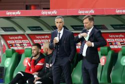 Главный тренер сборной Польши Соуза: «Неделю работали над нейтрализацией Шкриньяра и упустили его на угловом»