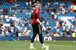 Вратарь «Реала» Лунин женился в... спортивном костюме