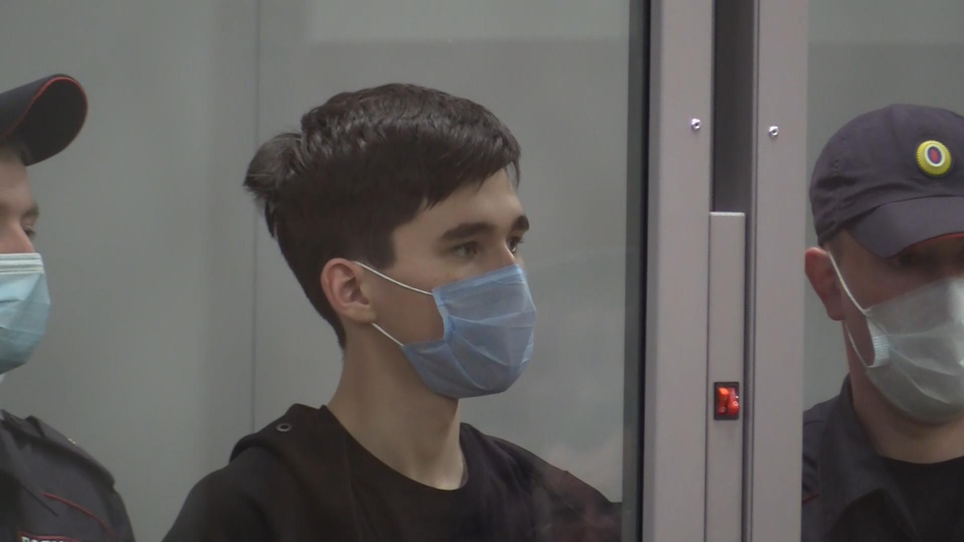 Обвиняемый в стрельбе в казанской гимназии арестован на два месяца