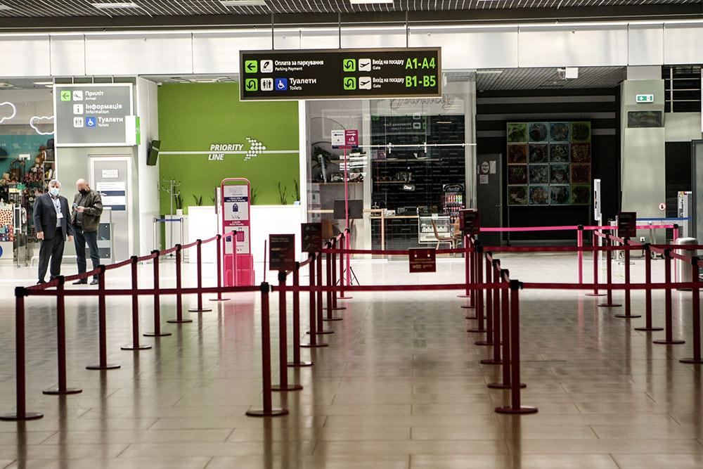 В аэропорту Киева подсчитали убытки от запрета полётов в Белоруссию