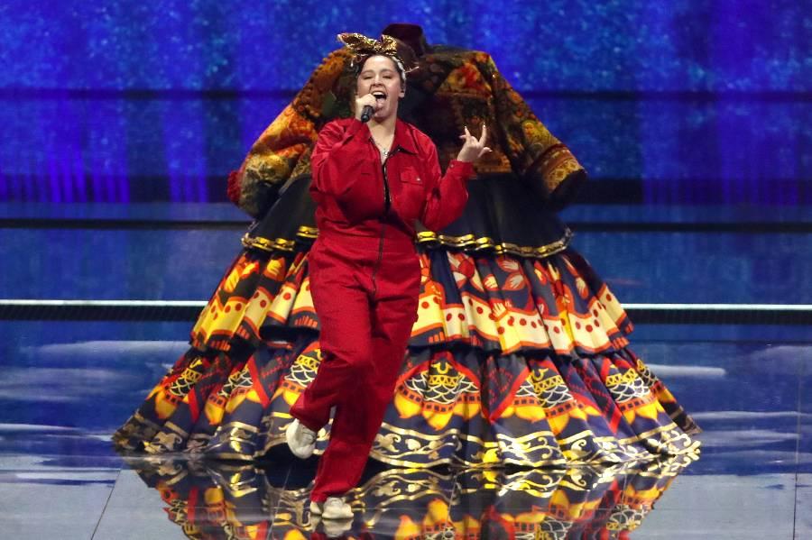 Финал Евровидения: Манижа зажгла на сцене