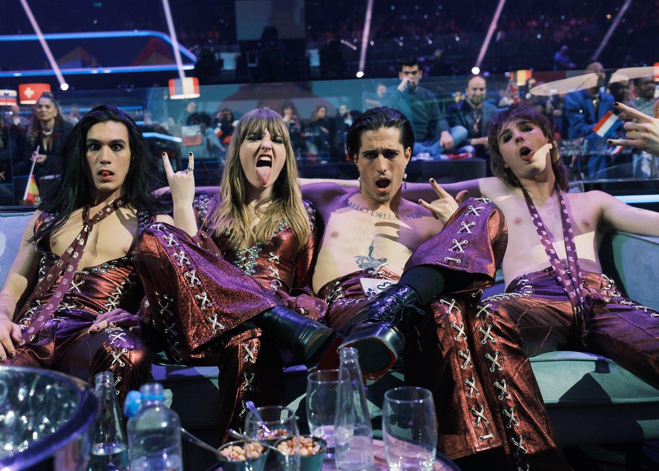 'Это невероятно': Итальянская группа Maneskin прокомментировала победу на Евровидении
