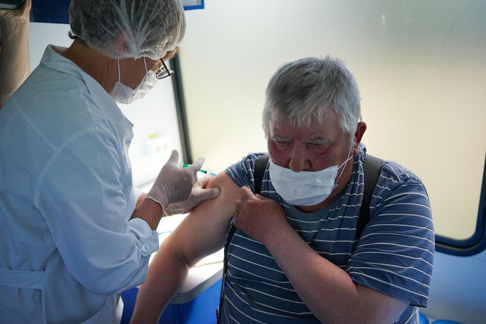 В Подмосковье больше миллиона человек привились от коронавируса