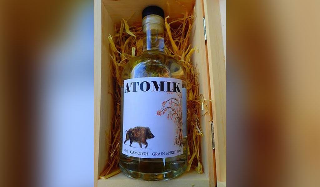 На Украине конфисковали первую партию 'чернобыльской' водки