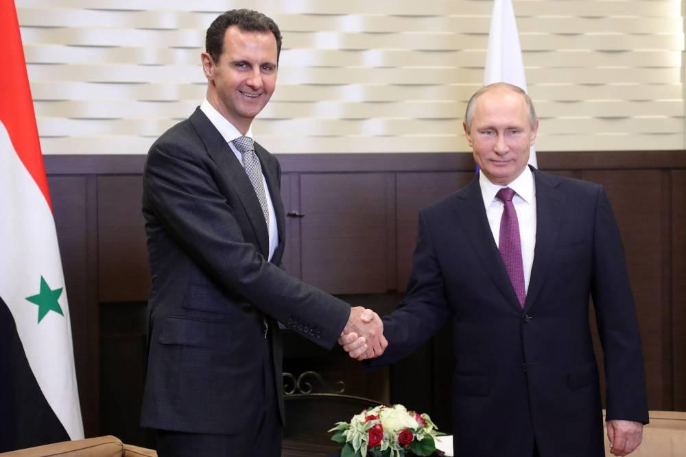 Президент Сирии поздравил россиян с Днём Великой Победы